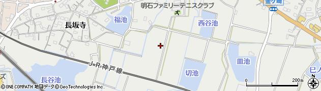 兵庫県明石市魚住町金ケ崎竹末周辺の地図