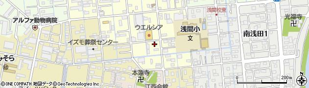 銀のさら 浜松南店周辺の地図