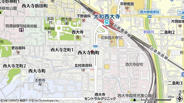 〒631-0824 奈良県奈良市西大寺南町の地図