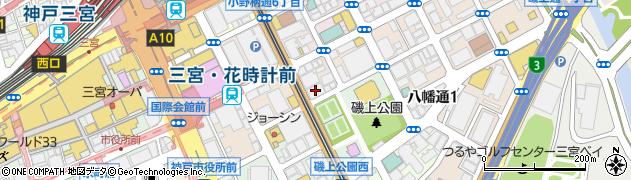 兵庫県神戸市中央区磯上通6丁目1-9 住所一覧から地図を検索
