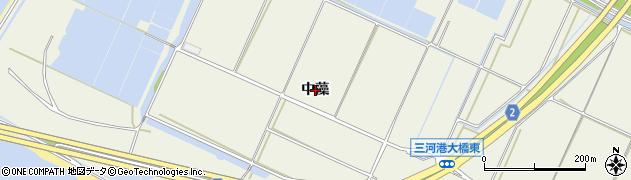 愛知県豊橋市杉山町(中藻)周辺の地図