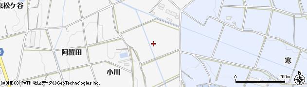 愛知県豊橋市細谷町(新小川)周辺の地図