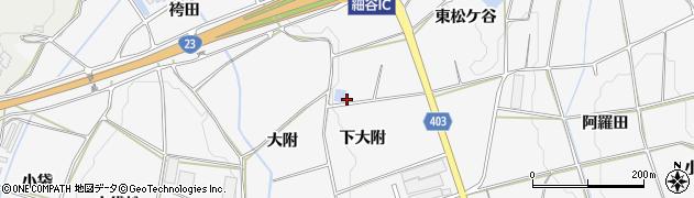 愛知県豊橋市細谷町(井ノ上)周辺の地図