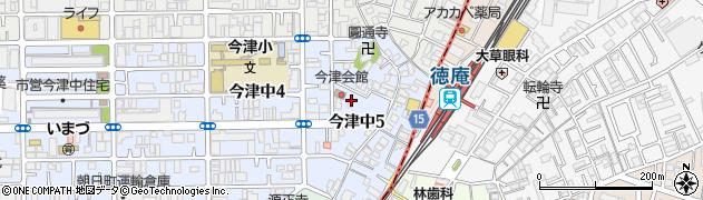 比枝神社周辺の地図