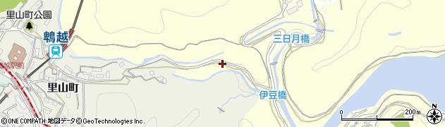 兵庫県神戸市兵庫区烏原町(片楚)周辺の地図