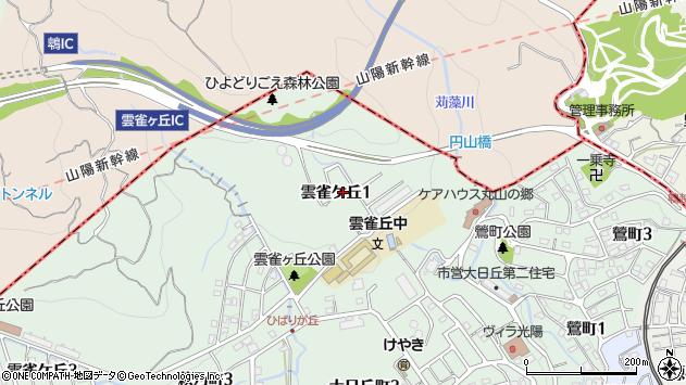 〒653-0879 兵庫県神戸市長田区雲雀ケ丘の地図