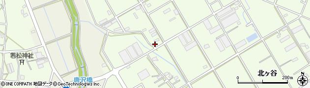 愛知県豊橋市若松町(豊美)周辺の地図