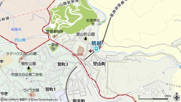 〒652-0051 兵庫県神戸市兵庫区里山町の地図