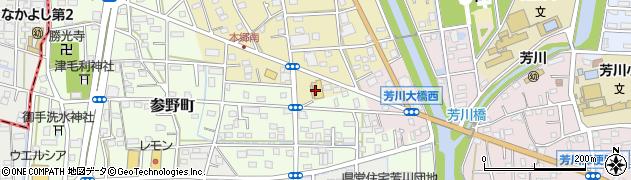 ステーキのあさくま 浜松本郷店周辺の地図
