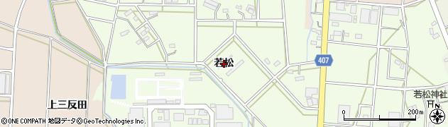 愛知県豊橋市若松町(若松)周辺の地図
