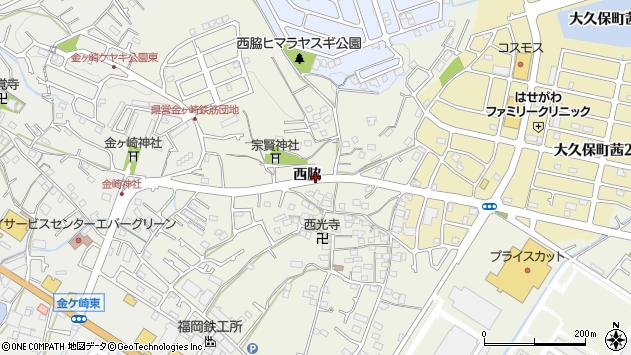 〒674-0054 兵庫県明石市大久保町西脇の地図