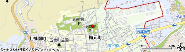 兵庫県神戸市兵庫区梅元町周辺の地図
