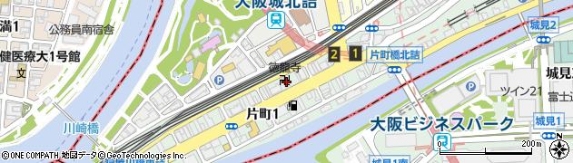 徳龍寺周辺の地図