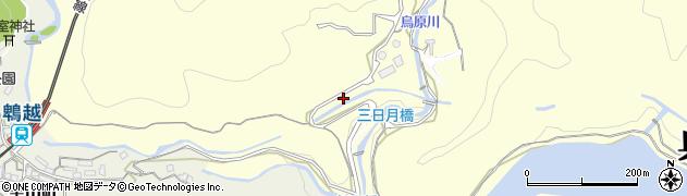 兵庫県神戸市兵庫区烏原町(古畑)周辺の地図