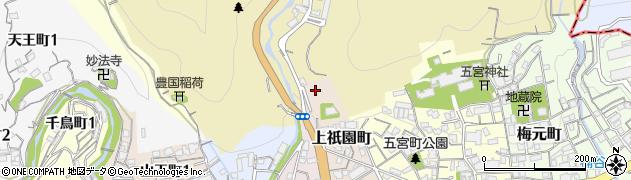 白玉稲荷神社周辺の地図