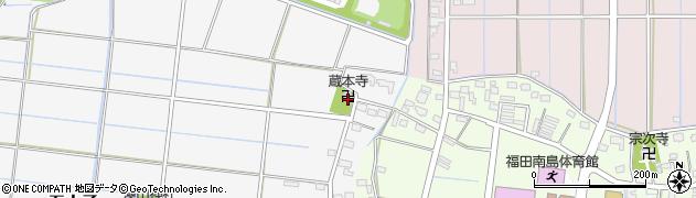 蔵本寺周辺の地図