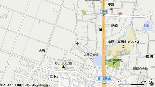 〒651-2256 兵庫県神戸市西区平野町大野の地図