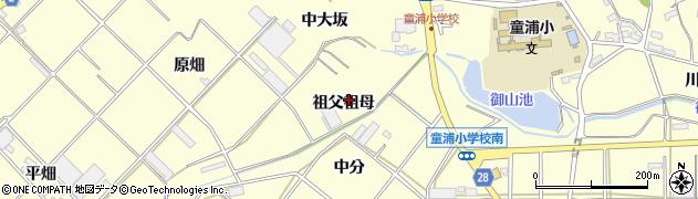 愛知県田原市浦町(祖父祖母)周辺の地図