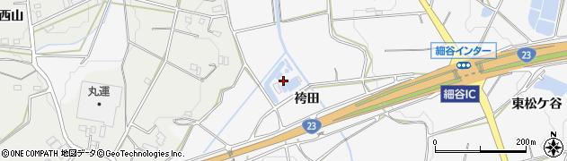 愛知県豊橋市細谷町(袴田)周辺の地図