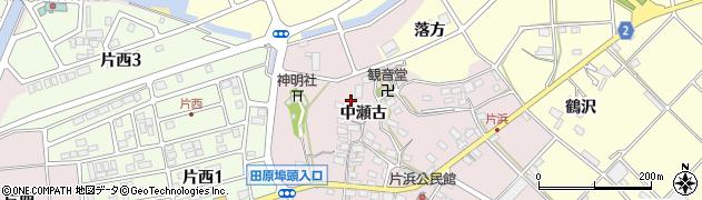 愛知県田原市片浜町周辺の地図