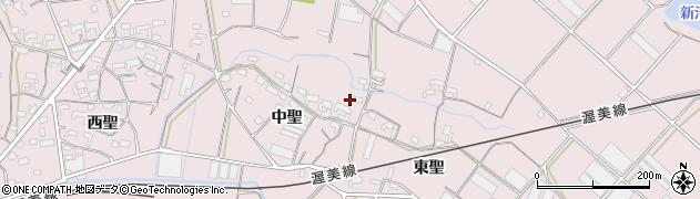 愛知県豊橋市老津町周辺の地図
