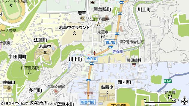 〒630-8205 奈良県奈良市今在家町の地図