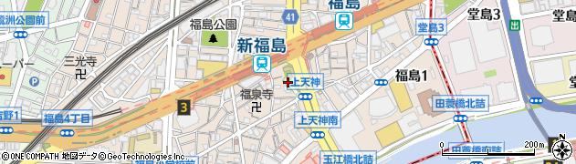福島天満宮周辺の地図