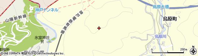 兵庫県神戸市兵庫区烏原町(中山)周辺の地図