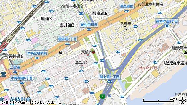 〒651-0087 兵庫県神戸市中央区御幸通の地図