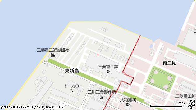 〒675-0164 兵庫県加古郡播磨町東新島の地図