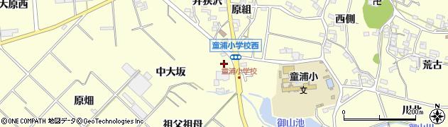 愛知県田原市浦町(大坂)周辺の地図