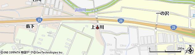 愛知県豊橋市野依町(上古川)周辺の地図