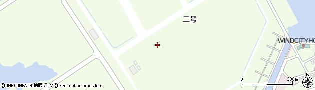 愛知県田原市白浜周辺の地図