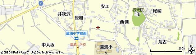 愛知県田原市浦町(米山)周辺の地図