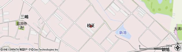 愛知県豊橋市老津町(桂王)周辺の地図