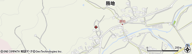 勝福寺周辺の地図