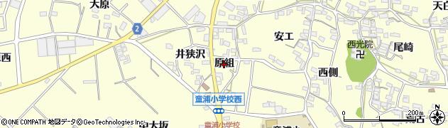 愛知県田原市浦町(原組)周辺の地図