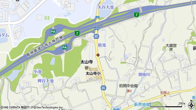 〒651-2108 兵庫県神戸市西区伊川谷町前開の地図