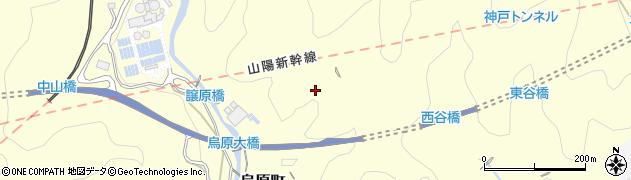 兵庫県神戸市兵庫区烏原町周辺の地図