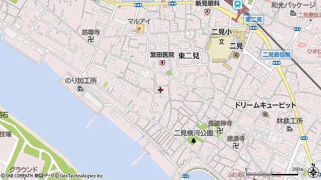 〒674-0092 兵庫県明石市二見町東二見の地図