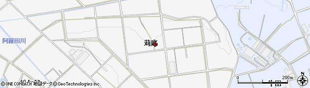 愛知県豊橋市細谷町(苅底)周辺の地図