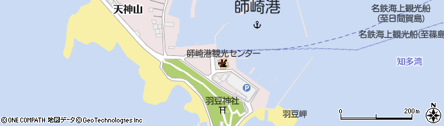 愛知県南知多町(知多郡)師崎(明神山)周辺の地図