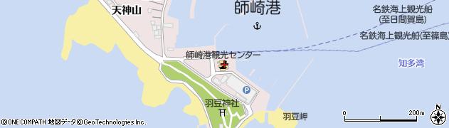味里羽豆岬売店周辺の地図