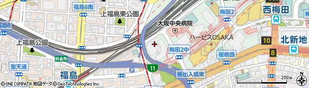 大阪府大阪市北区梅田3丁目4-5周辺の地図