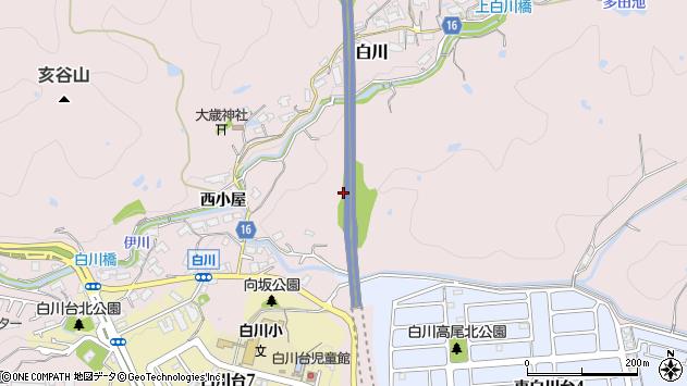 〒654-0101 兵庫県神戸市須磨区白川の地図