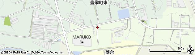 丸壷周辺の地図