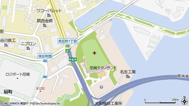 〒660-0094 兵庫県尼崎市末広町の地図