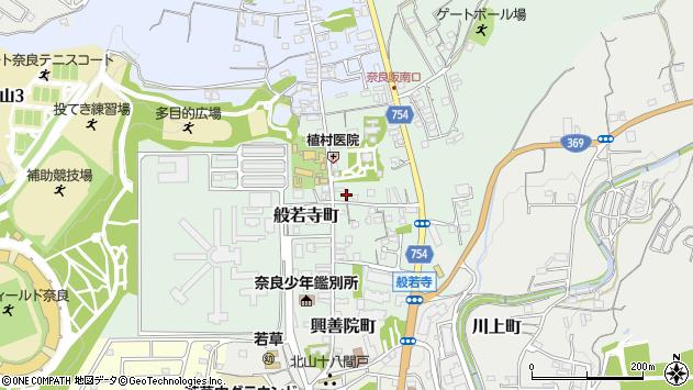〒630-8102 奈良県奈良市般若寺町の地図