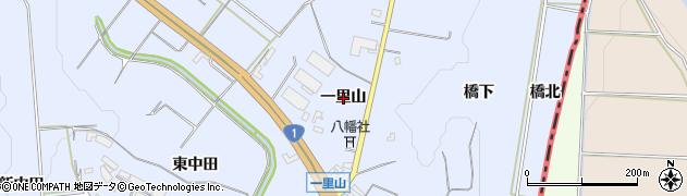 愛知県豊橋市東細谷町(一里山)周辺の地図