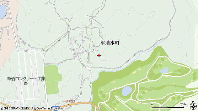 〒630-1122 奈良県奈良市平清水町の地図